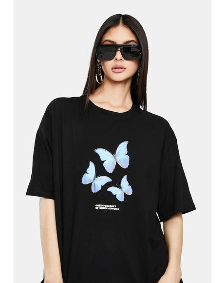 Livia Butterfly Graphic Tee