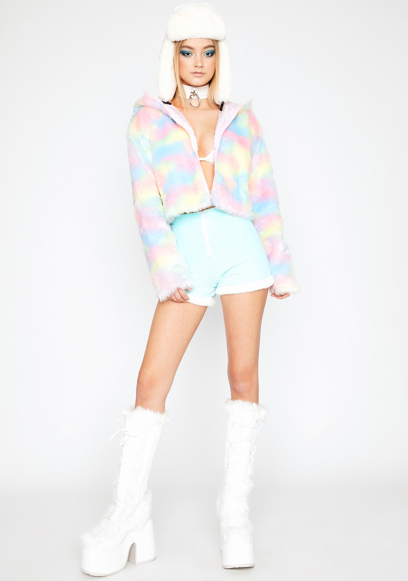 Thots N' Candy Cropped Jacket
