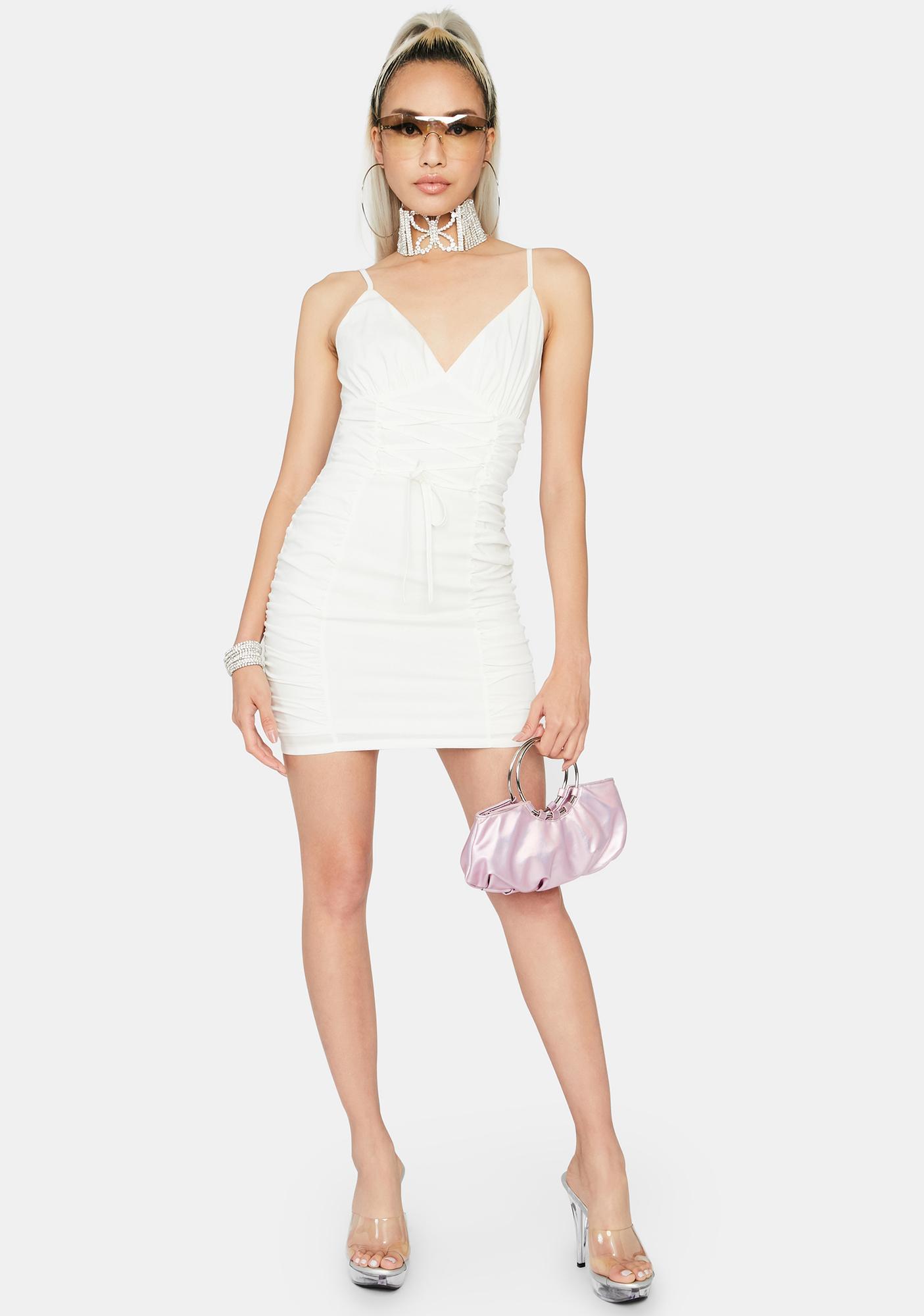 Down To Business Mini Dress