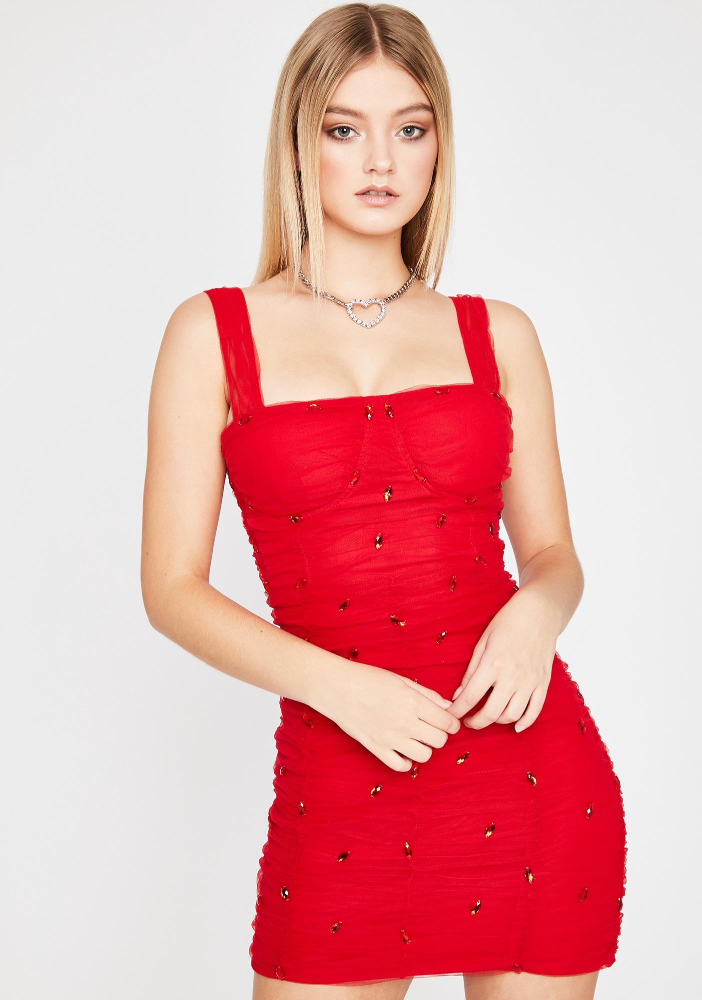 Hot Stellar Scene Bodycon Dress