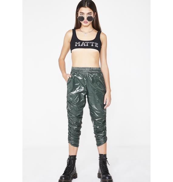 Kiki Riki Trap House Ruched Trousers