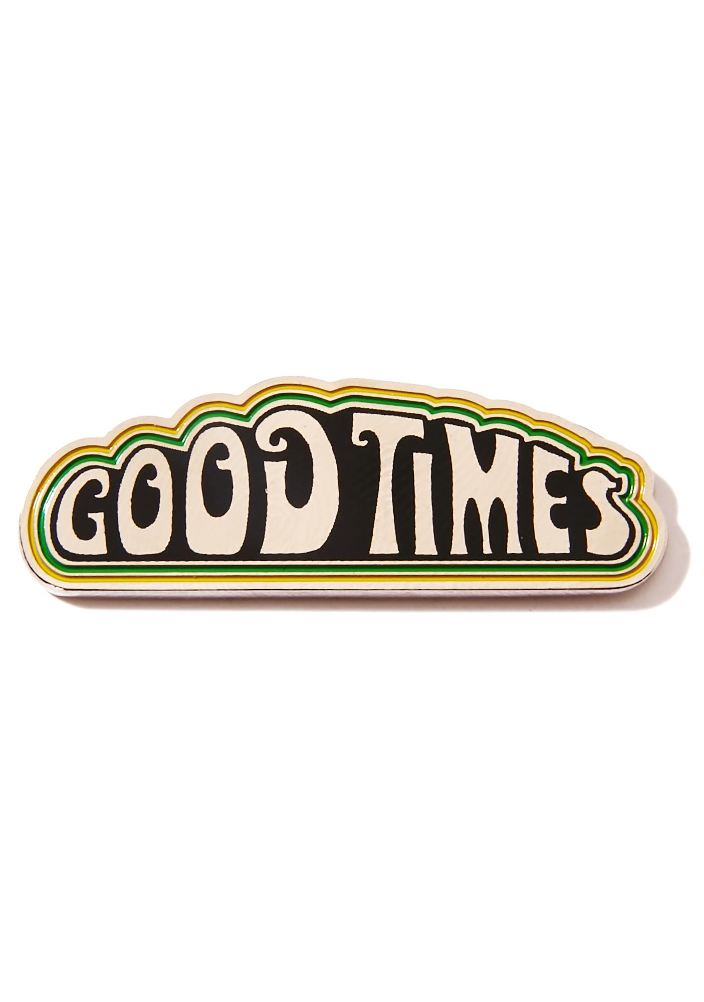 HUF Good Times Pin