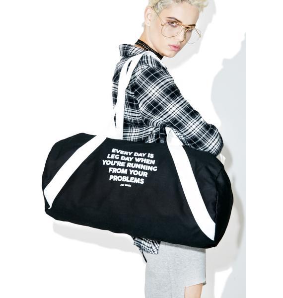 Jac Vanek Leg Day Duffel Bag