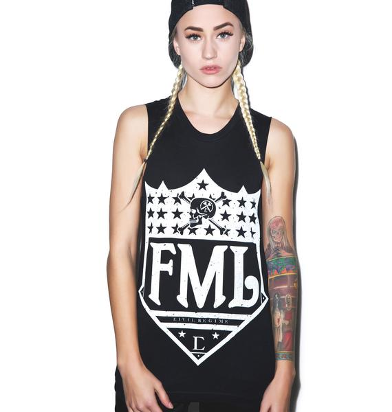 Civil Clothing FML Muscle Tee