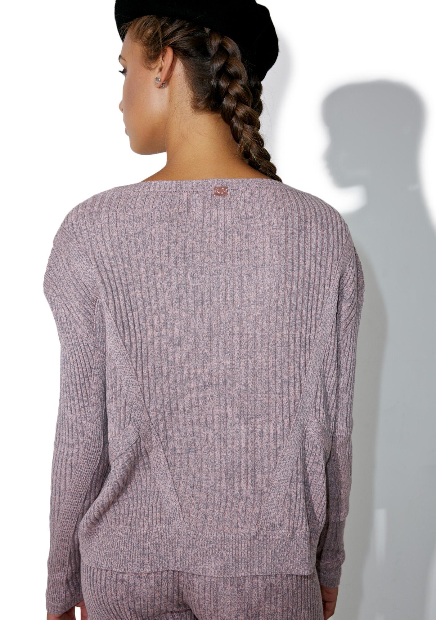 For Love & Lemons Lafayette Pull Over Sweater