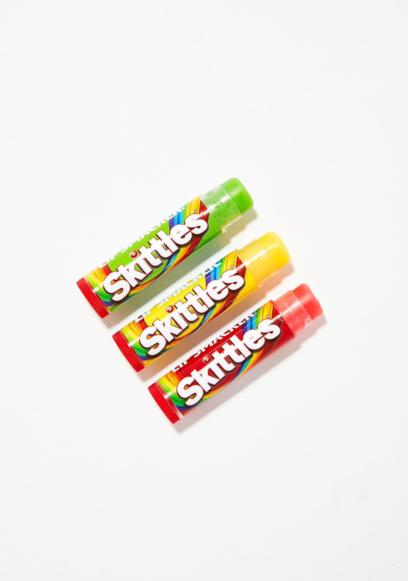 Lip Smacker Skittles Lip Balm Trio
