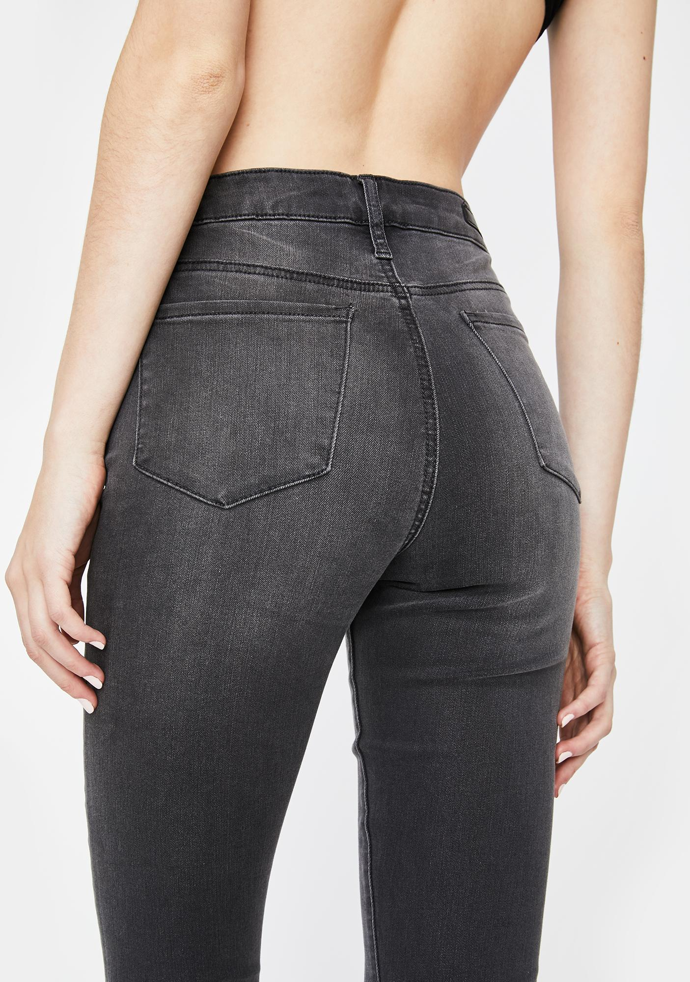 Articles of Society Iron London Crop Flare Jeans