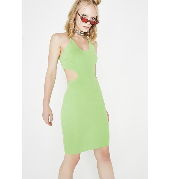 Hot N Cold Cutout Dress