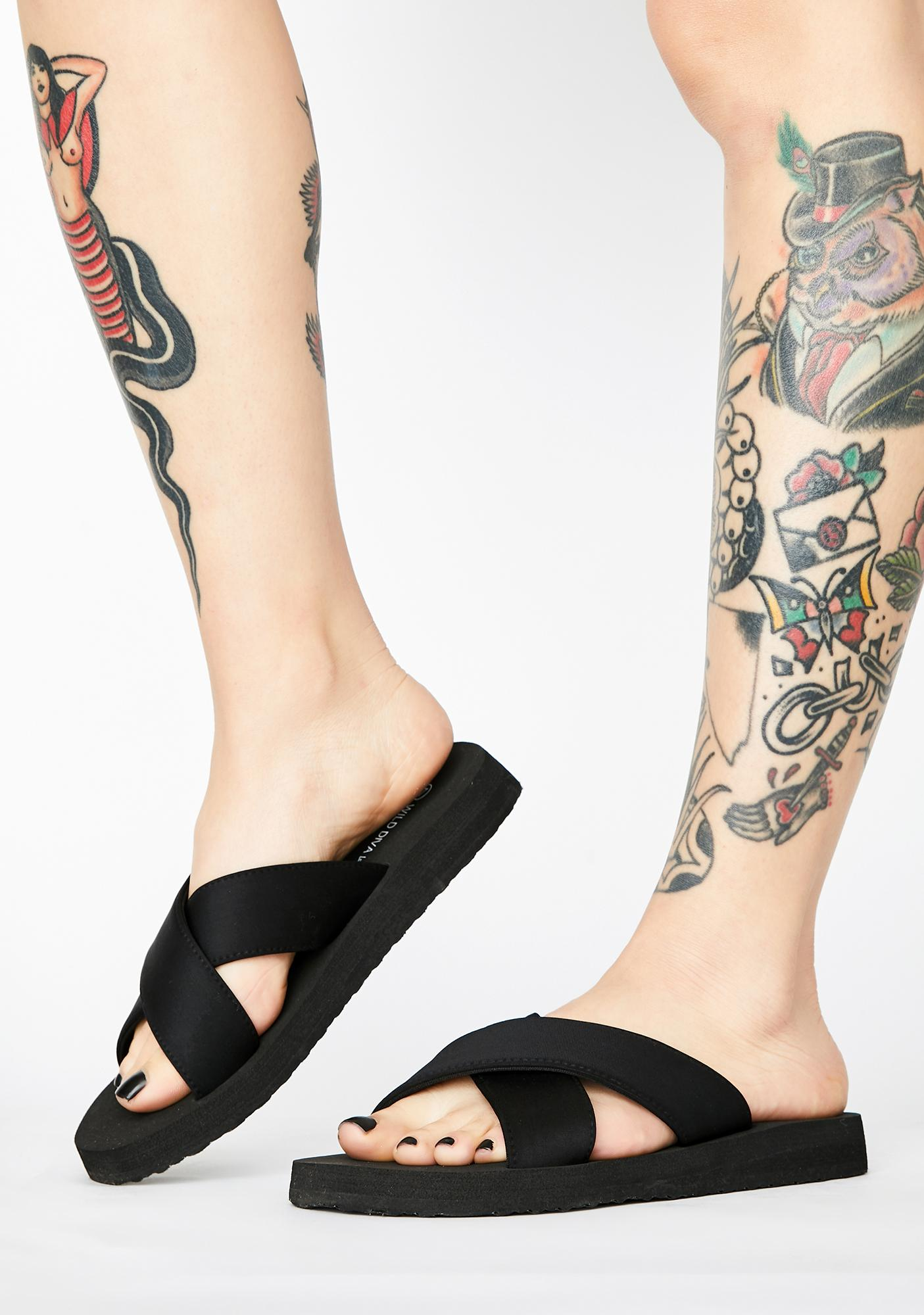 Wicked Vacay Time Sandal Slides