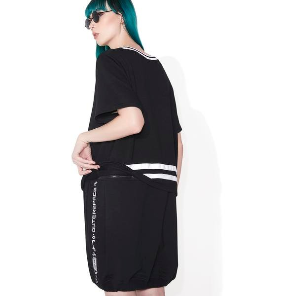 Outerspace Two Way Oversized Sweater Dress