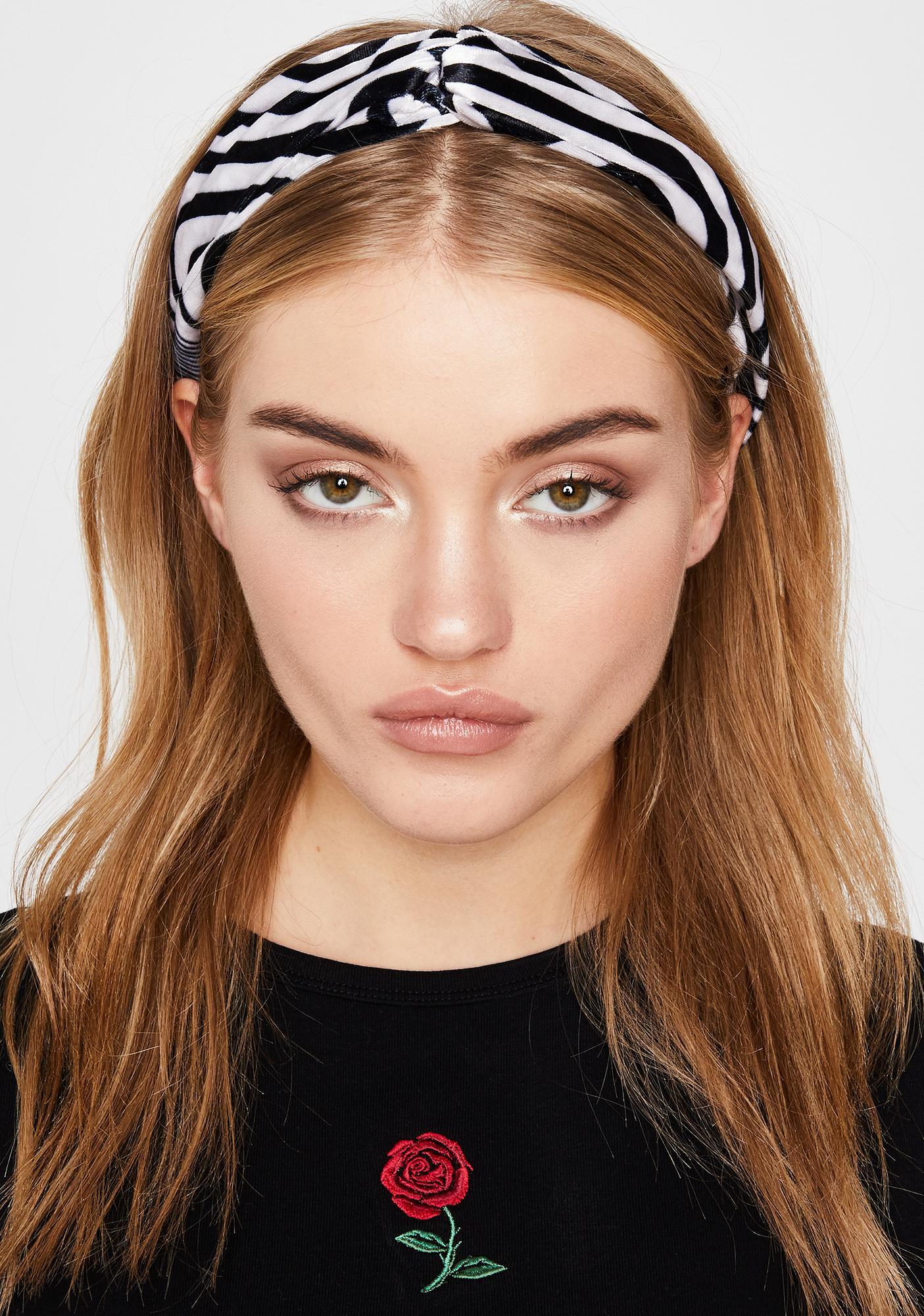 Captivating Chaos Striped Headband