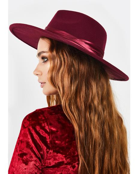 Hot Rebel Reputation Wide Brim Hat