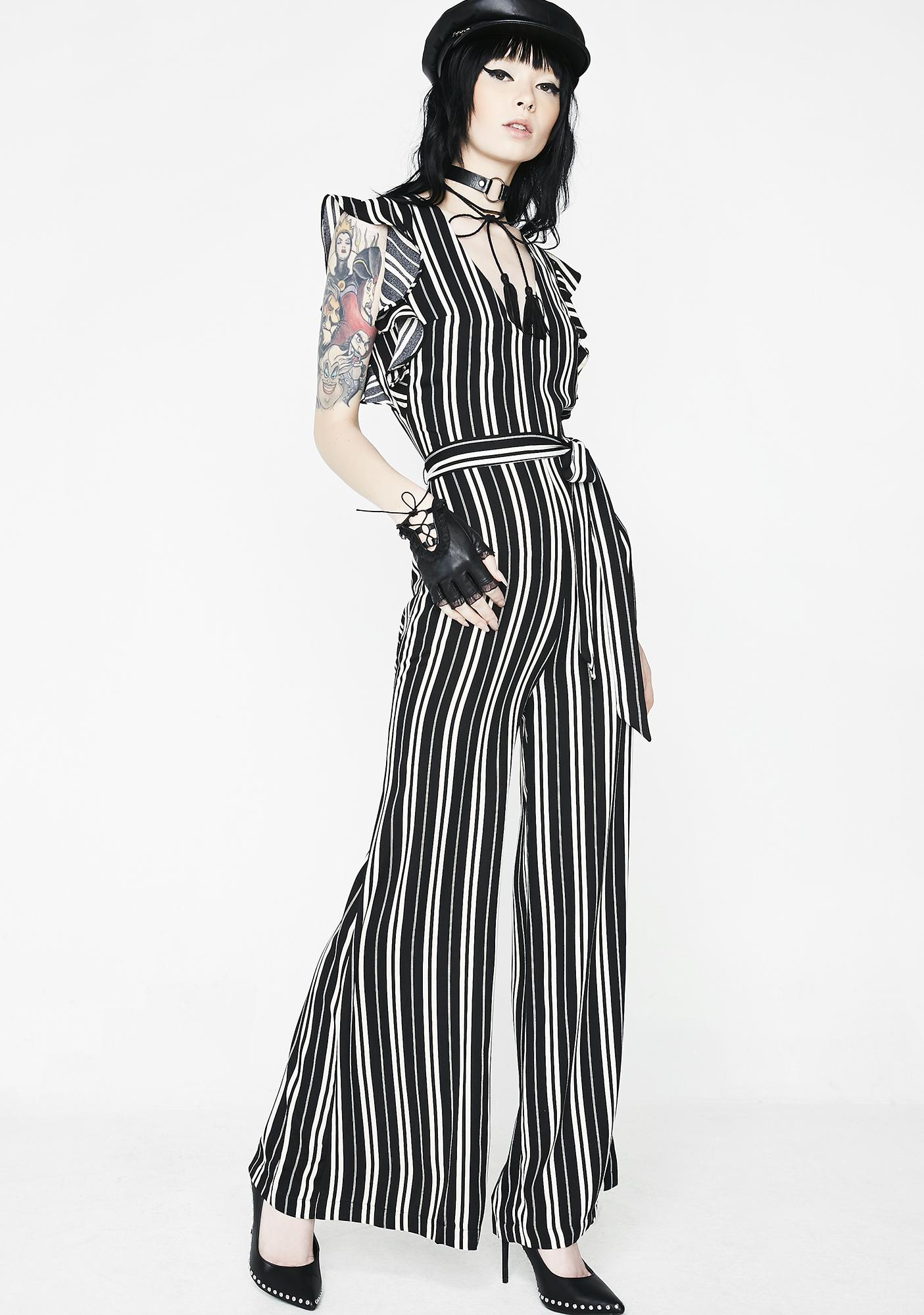 Issa Vibe Striped Jumpsuit