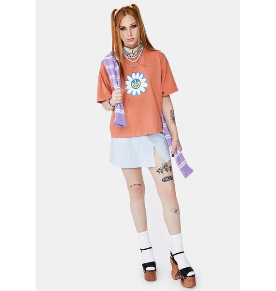 Obey Coral Daisy Tee