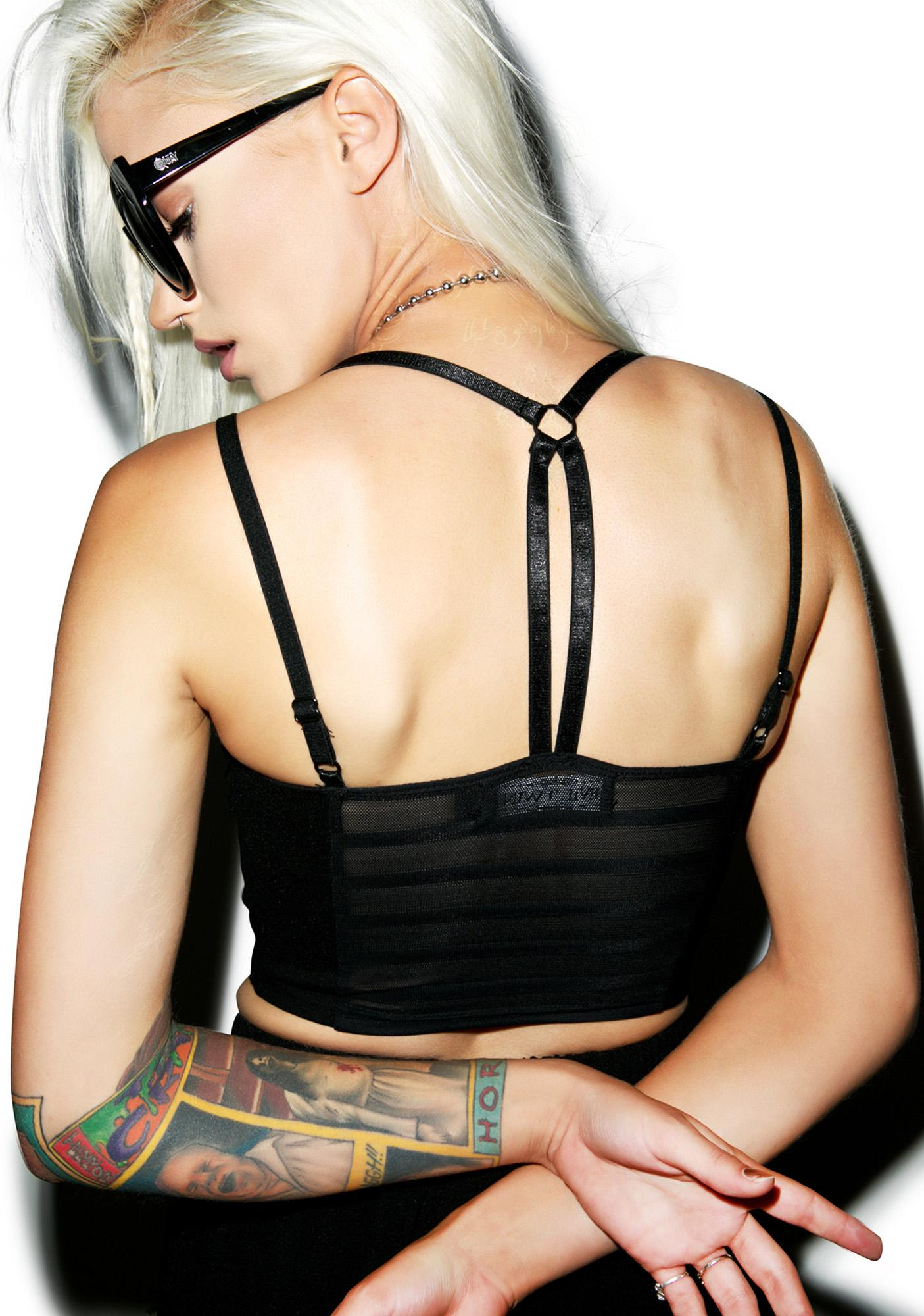 Evil Twin Closed Blinds Bralet