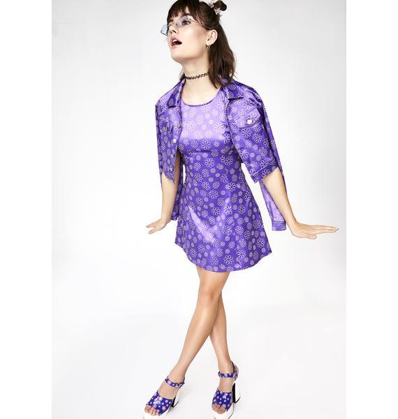 dELiA*s by Dolls Kill Glamphoria Satin Dress