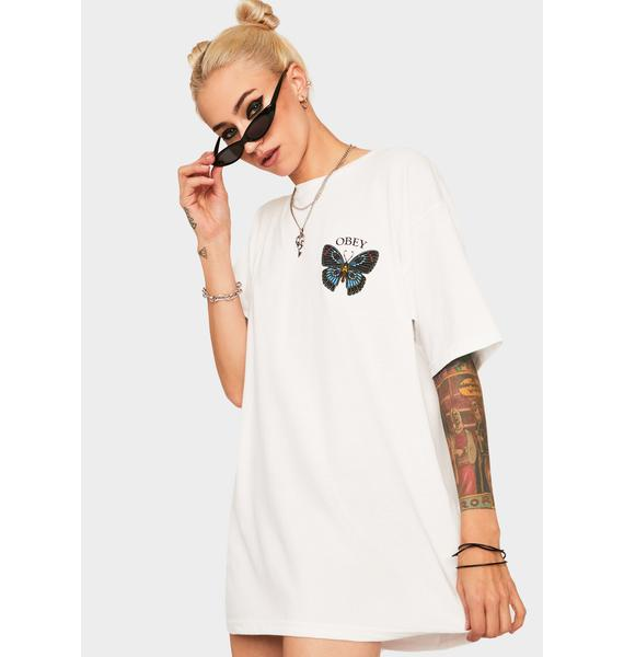 Obey Obey Butterfly Graphic Tee