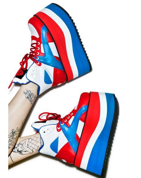 Independence Bae Platform Sneakers