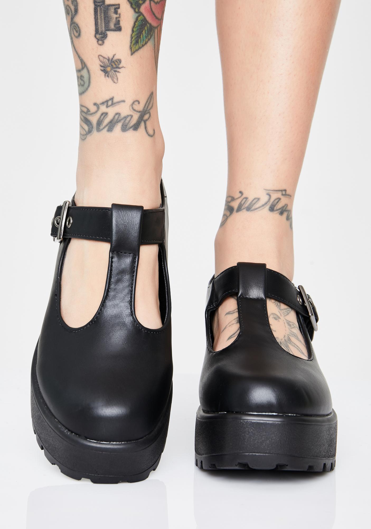 Koi Footwear Dark Sai Mary Janes