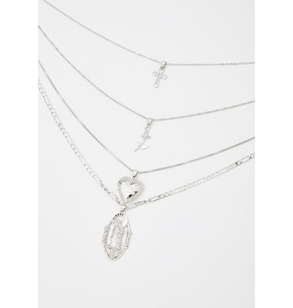 Falling For You Layered Necklace