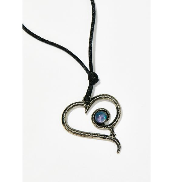 Matters Of The Heart Mood Necklace