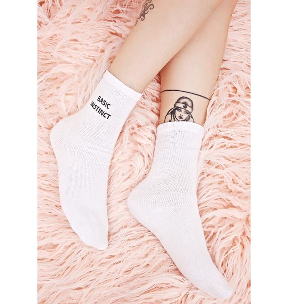 Working Girls Co Basic Instinct Socks