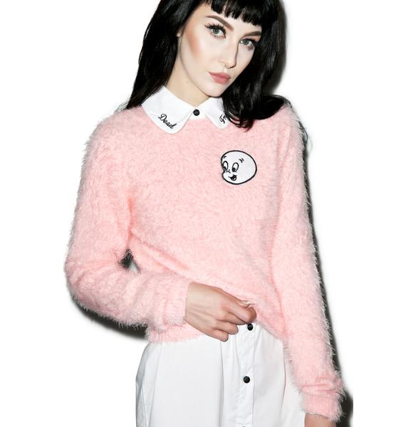 Lazy Oaf X Casper Fluffy Jumper