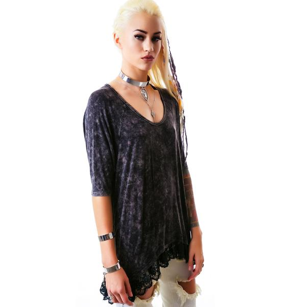 Ride Alone Lace Top