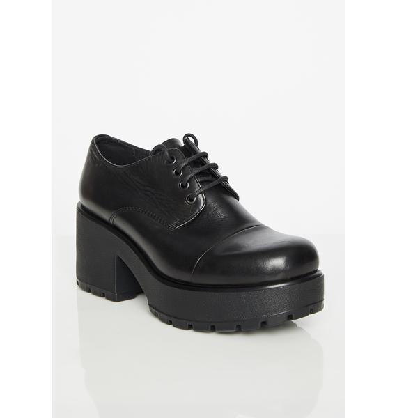 VAGABOND SHOEMAKERS Dioon Leather Platform Oxfords