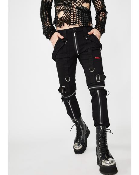 Black Para Pants