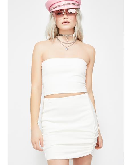 Pure Classy Clique Skirt Set