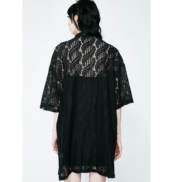 SISTER JANE Lost In Stereo Lace Dress