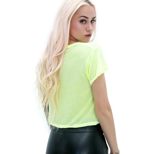 Wildfox Couture Tequila Hour Middie Tee