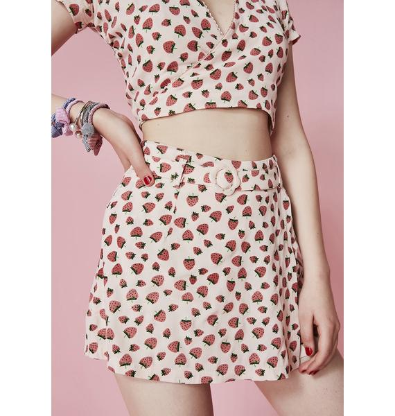 Sugar Thrillz Forbidden Fruit Skort