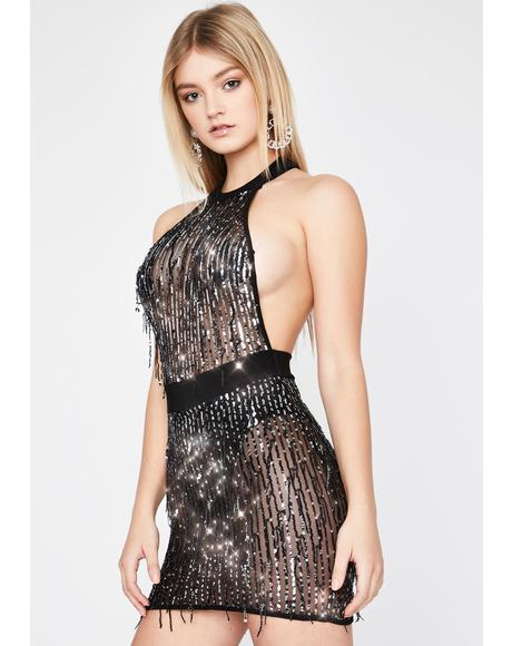 Bombshell Nights Sequin Dress