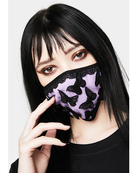 Lucid Dream Butterfly Face Mask