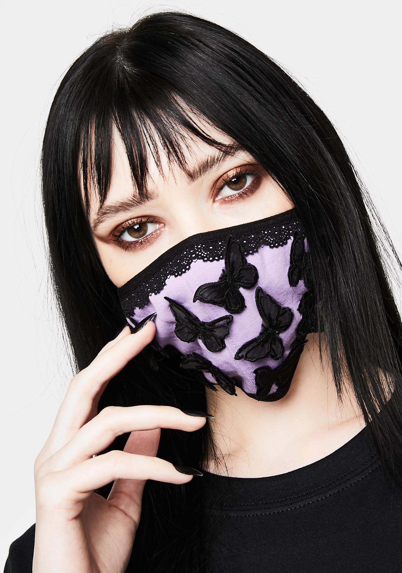 HOROSCOPEZ Lucid Dream Butterfly Face Mask