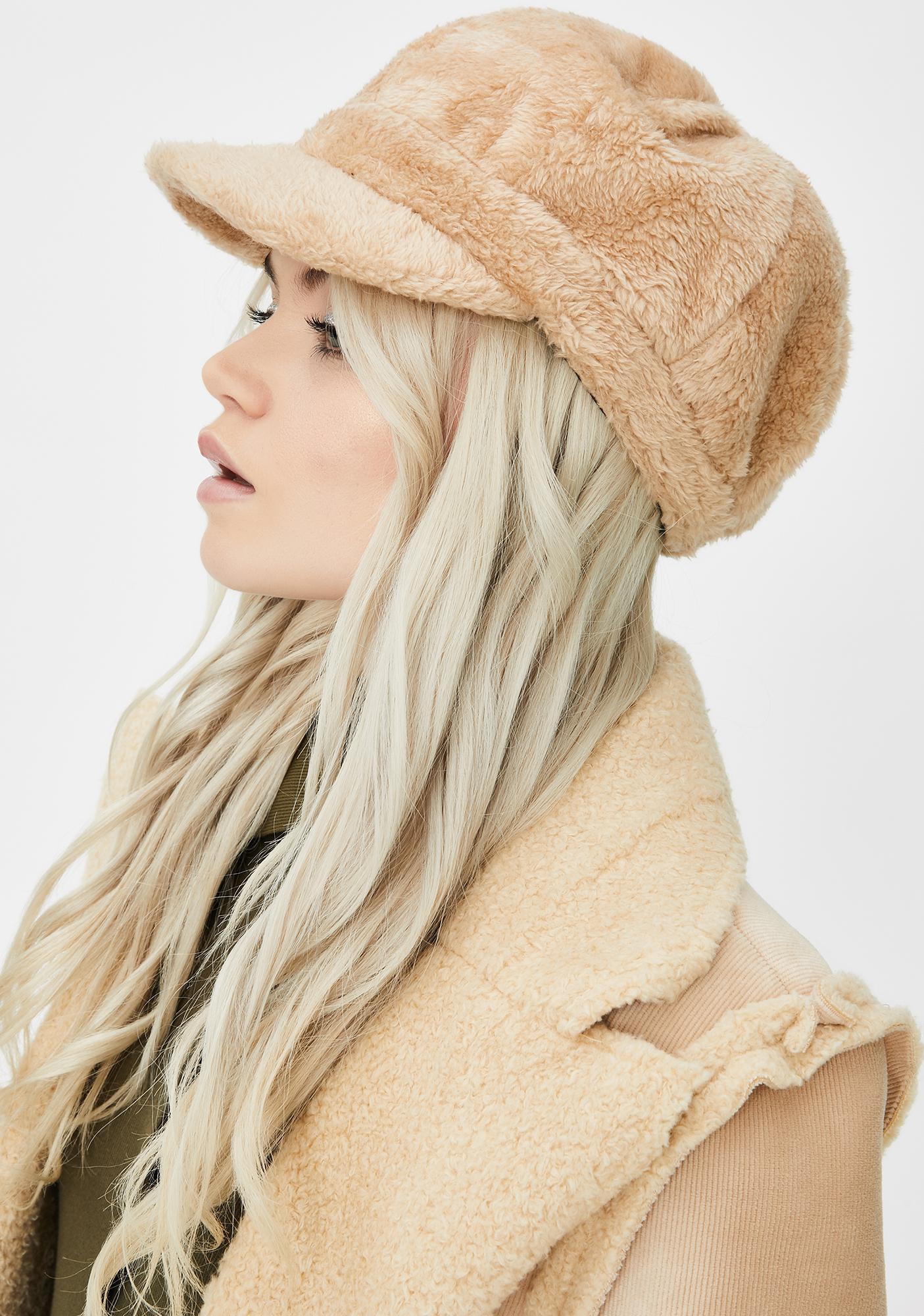Plush Love Faux Fur Hat