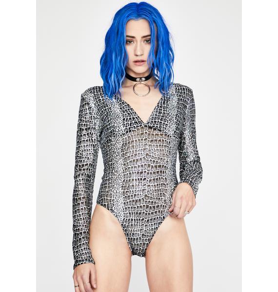 Toxic Viper Holographic Bodysuit