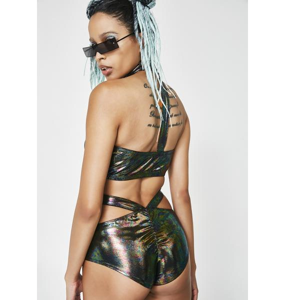 Club Exx Supreme Freak Oil Slick Shorts