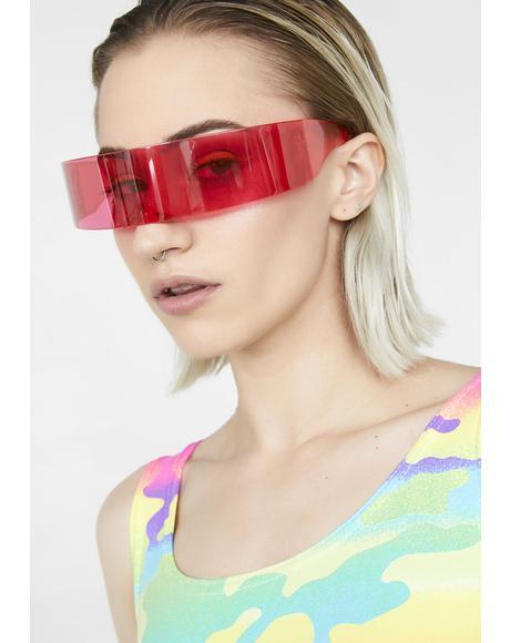 Neon Meld Cyber Visor