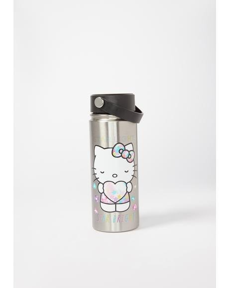 Hello Kitty Star Shine Stainless Steel Bottle
