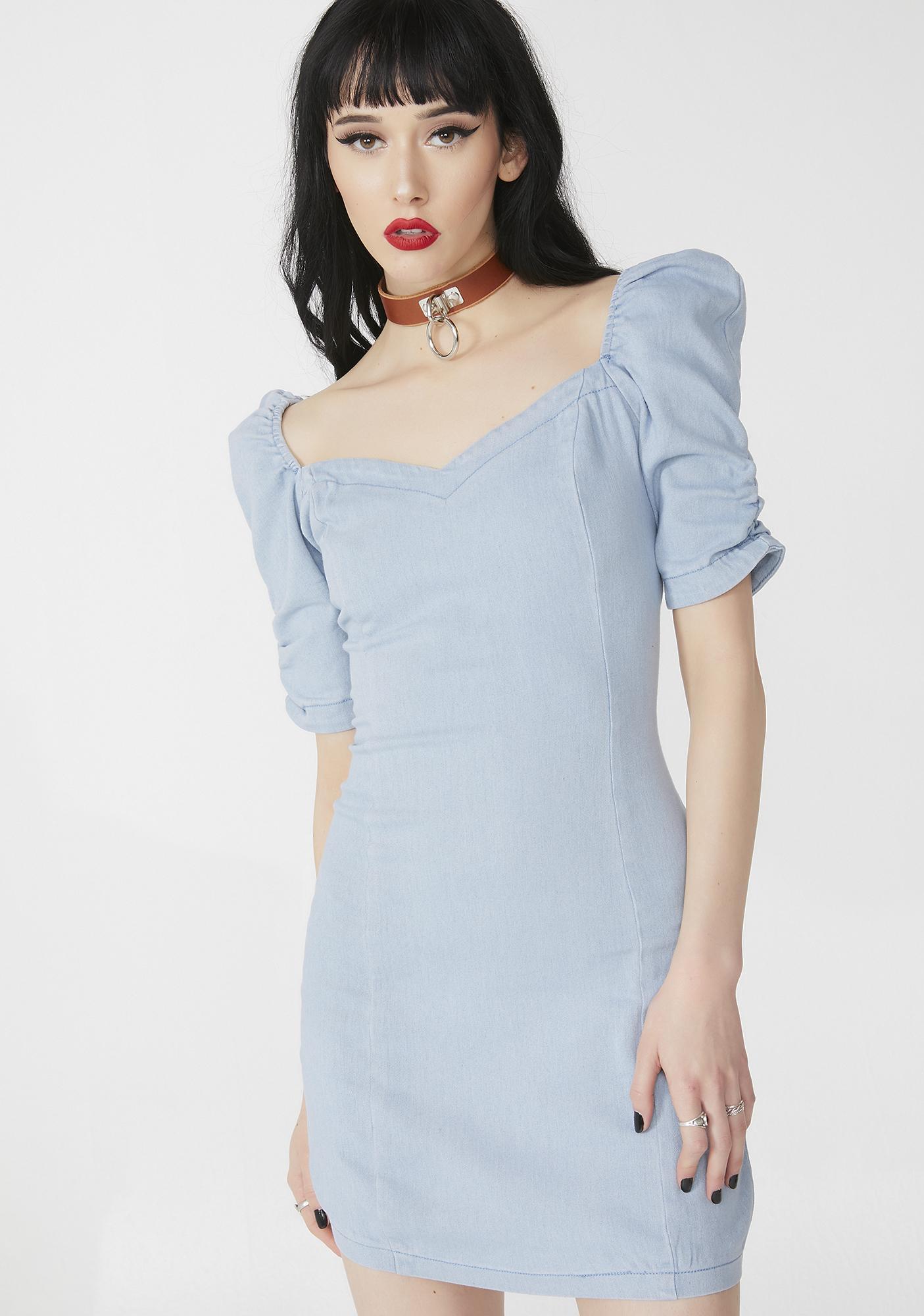 Classy Effect Mini Dress