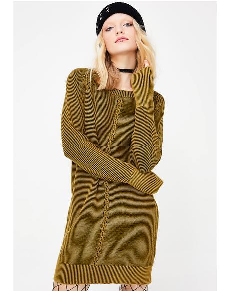 In A Twist Longline Sweater