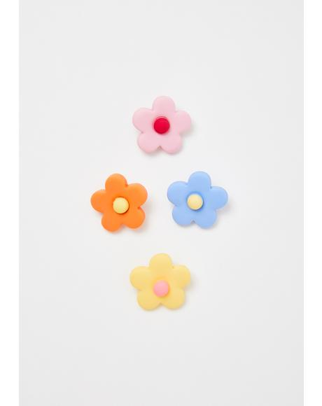 Flower Power Shoelace Accessories