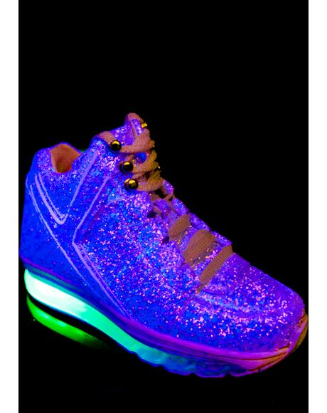 Qozmo Aiire Glitter Sneakers