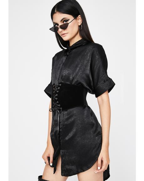 Luna Moonlit Mistress Corset Dress