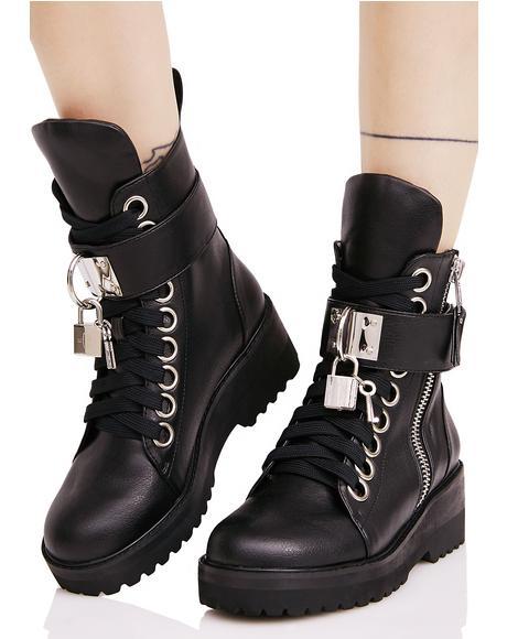 Lock 'N Key Boots