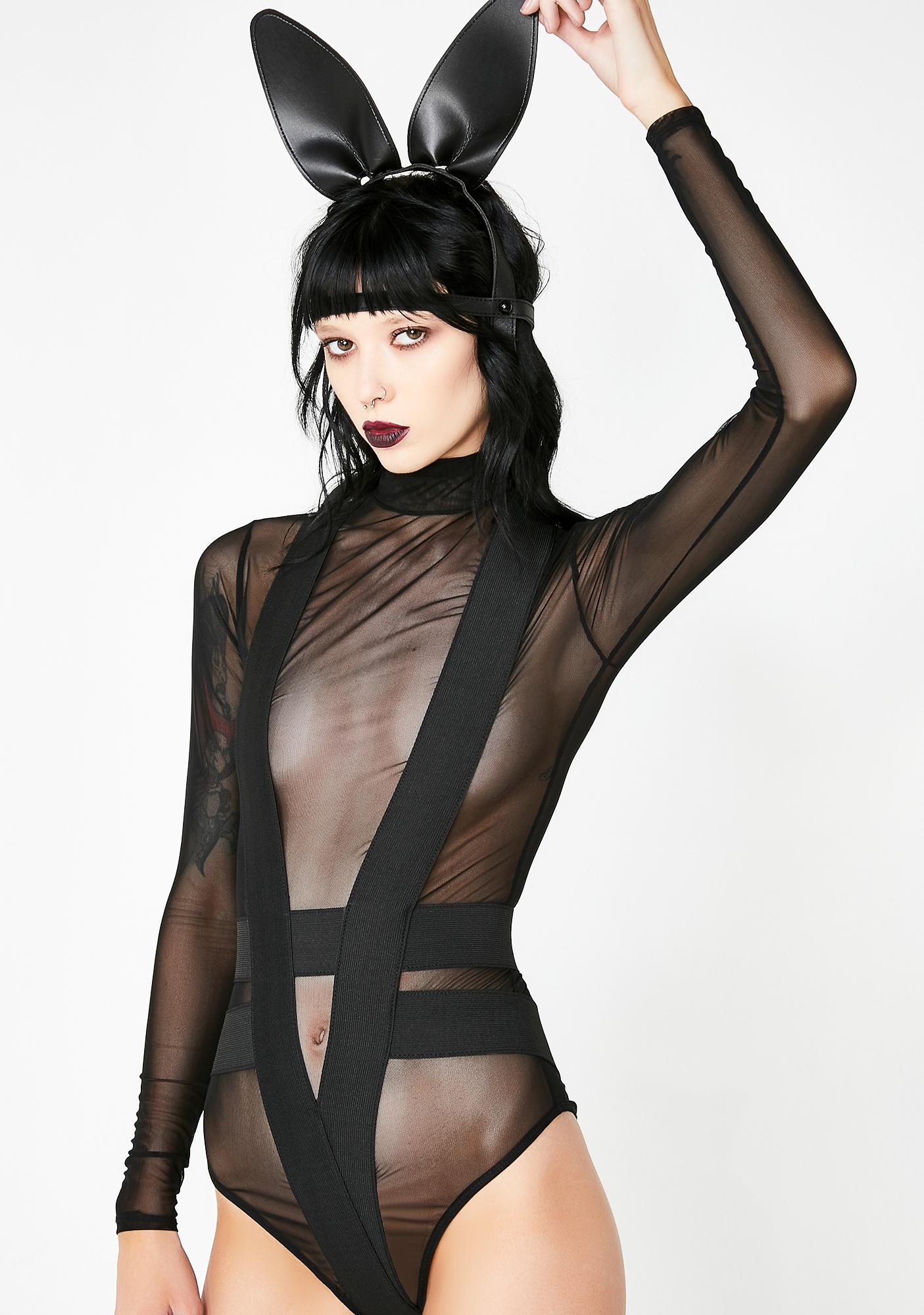 Enigmatic Fantasy Sheer Bodysuit