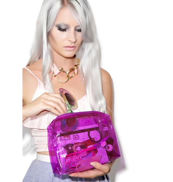 Yer So Transparent Clutch Pouch
